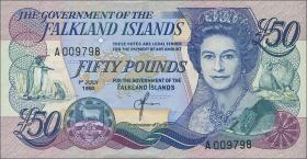 Falkland Inseln P.16 50 Pounds 1990 (1/1-)