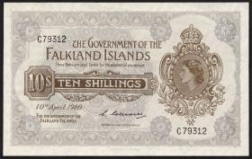 Falkland Inseln P.07a 10 Shillings1960 (1)