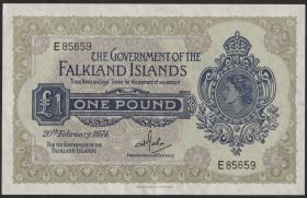 Falkland Inseln P.08b 1 Pound 1974 (1/1-)