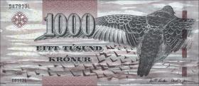 Färöer Inseln / Faeroe Is. P.33 1000 Kronen (2012)