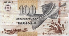 Färöer Inseln / Faeroe Is. P.30 100 Kronen (2012)