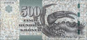Färöer Inseln / Faeroe Is. P.32 500 Kronen (2012)