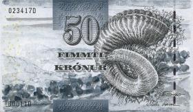 Färöer Inseln / Faeroe Is. P.24 50 Kronen 2001 (1)