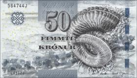 Färöer Inseln / Faeroe Is. P.29 50 Kronen (2012)