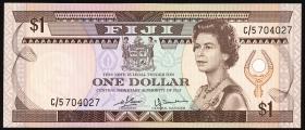 Fiji Inseln / Fiji Islands P.076 1 Dollar (1980) (1)