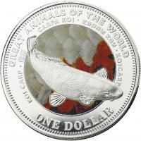 Fiji 1 Dollar 2009 Koi (Serie A)