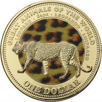 Fiji 1 Dollar 2009 Leopard (Serie B)