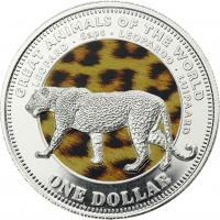 Fiji 1 Dollar 2009 Leopard (Serie A)