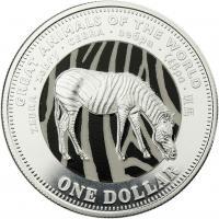 Fiji 1 Dollar 2009 Zebra (Serie A)