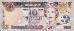 Fiji Inseln / Fiji Islands P.106 10 Dollars (2002) (1)