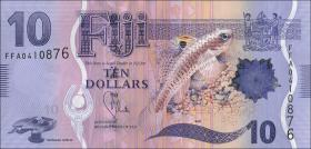 Fiji Inseln / Fiji Islands P.116 10 Dollars (2012) (1)