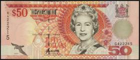 Fiji Inseln / Fiji Islands P.100a 50 Dollars (1996) (1)