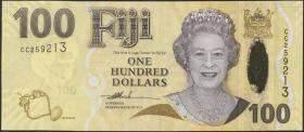 Fiji Inseln / Fiji Islands P.114 100 Dollars (2007) (1)