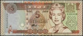 Fiji Inseln / Fiji Islands P.101b 5 Dollars (1998) (1)