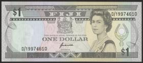 Fiji Inseln / Fiji Islands P.089 1 Dollar (1993) (1)