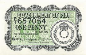 Fiji Inseln / Fiji Islands P.047 1 Penny 1942 (1)
