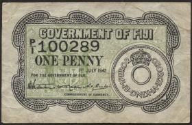 Fiji Inseln / Fiji Islands P.047 1 Penny 1942 (3)