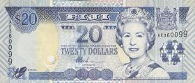 Fiji Inseln / Fiji Islands P.107 20 Dollars (2002) (1)