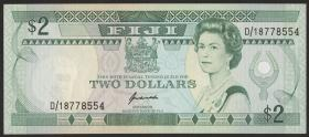Fiji Inseln / Fiji Islands P.090 2 Dollars (1989) (1)