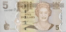 Fiji Inseln / Fiji Islands P.110 5 Dollars (2007) (1)