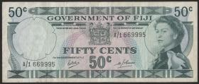 Fiji Inseln / Fiji Islands P.058 50 Cents (1969) (3)