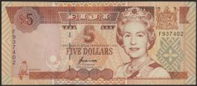 Fiji Inseln / Fiji Islands P.097 5 Dollars (1995) (1)