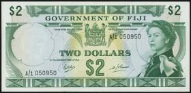 Fiji Inseln / Fiji Islands P.060 2 Dollars (1969) (1)