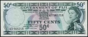Fiji Inseln / Fiji Islands P.064a 50 Cents (1971) (2)