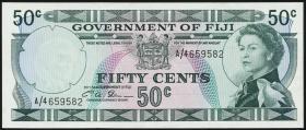 Fiji Inseln / Fiji Islands P.064b 50 Cents (1971) (1-)