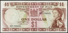 Fiji Inseln / Fiji Islands P.065a 1 Dollar (1971) (2)