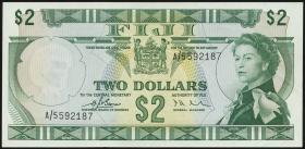 Fiji Inseln / Fiji Islands P.072a 2 Dollars (1974) (2)