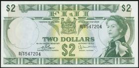 Fiji Inseln / Fiji Islands P.072c 2 Dollars (1974) (1-)