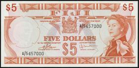 Fiji Inseln / Fiji Islands P.073c 5 Dollars (1974) (1/1-)