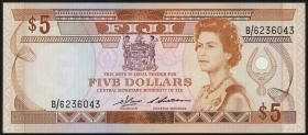 Fiji Inseln / Fiji Islands P.083 5 Dollars (1986) (1)