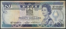 Fiji Inseln / Fiji Islands P.085 10 Dollars (1986) (3)