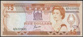 Fiji Inseln / Fiji Islands P.091 5 Dollars (1989) (1)