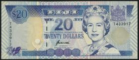 Fiji Inseln / Fiji Islands P.099a 20 Dollars (1996) (1)