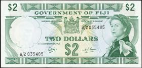 Fiji Inseln / Fiji Islands P.060 2 Dollars (1969) (1/1-)