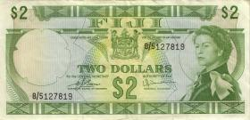 Fiji Inseln / Fiji Islands P.072c 2 Dollars (1974) (3)