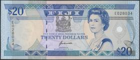 Fiji Inseln / Fiji Islands P.095 20 Dollars (1992) (1)