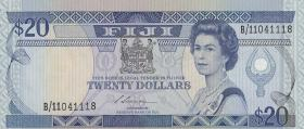 Fiji Inseln / Fiji Islands P.088 20 Dollars (1988) (1)