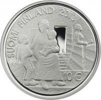 Finnland 10 Euro 2013 Mannerheim