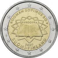 Finnland 2 Euro 2007 Römische Verträge