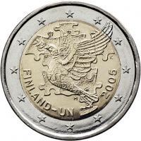 Finnland 2 Euro 2005 UNO