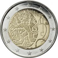 Finnland 2 Euro 2010 Markka-Währung