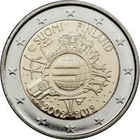 Finnland 2 Euro 2012 Euro-Bargeld