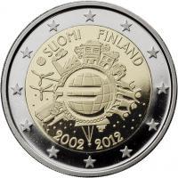 Finnland 2 Euro 2012 Euro-Bargeld PP