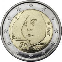 Finnland 2 Euro 2014 Tove Jansson