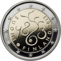 Finnland 2 Euro 2013 150 J. Parlament PP