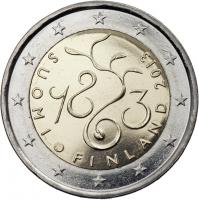 Finnland 2 Euro 2013 150 J. Parlament